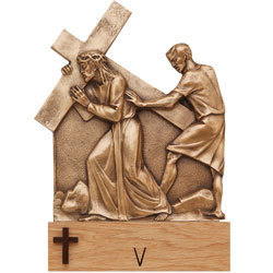 Stations of the Cross at St. Joseph's Hospital