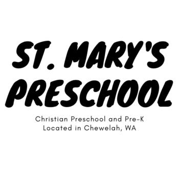 Enroll Now for St. Mary's Preschool
