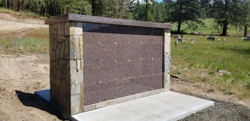 New Columbarium Installed at St. Mary's Cemetery