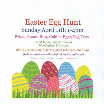 Easter Egg Hunt - New Date