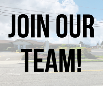 Two Great Opportunities to Join Our Team!