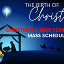 2020 Christmas and New Year's Mass Schedule