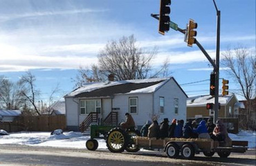 Christmas Hayride on Gaudete Sunday (3rd Sunday of Advent)