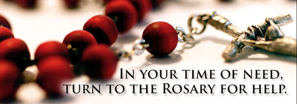 To pray the Holy Rosary, click here .