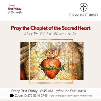 First Friday Chaplet of the Sacred Heart