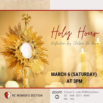 RC Women Holy Hour
