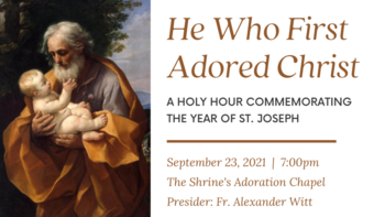He Who First Adored Christ