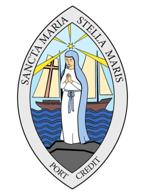 St. Mary Star of the Sea Parish Port Credit Logo