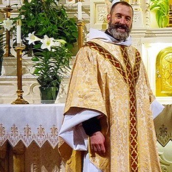 Fr. Aaron's Going on Sabbatical Party