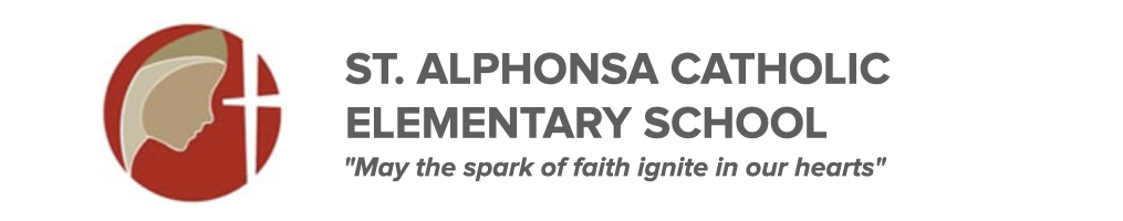 St. Alphonsa Catholic Elementary School logo. Click here to be taken to their website.