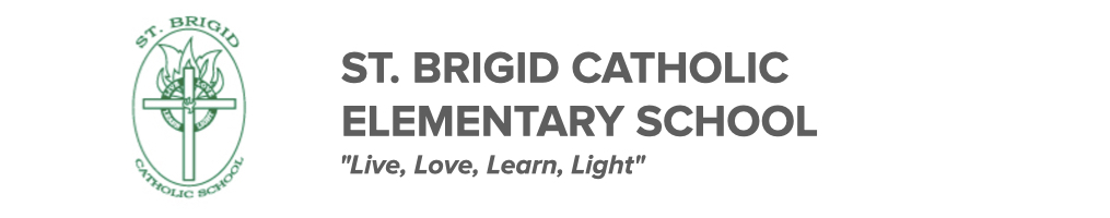St. Brigid Elementary School logo. Click here to be taken to their website.