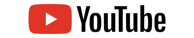 YouTube logo. Click here to be taken to St. Jerome Parish YouTube page to watch mass online.