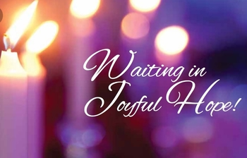 Waiting in Joyful Hope: December 2018 Newsletter