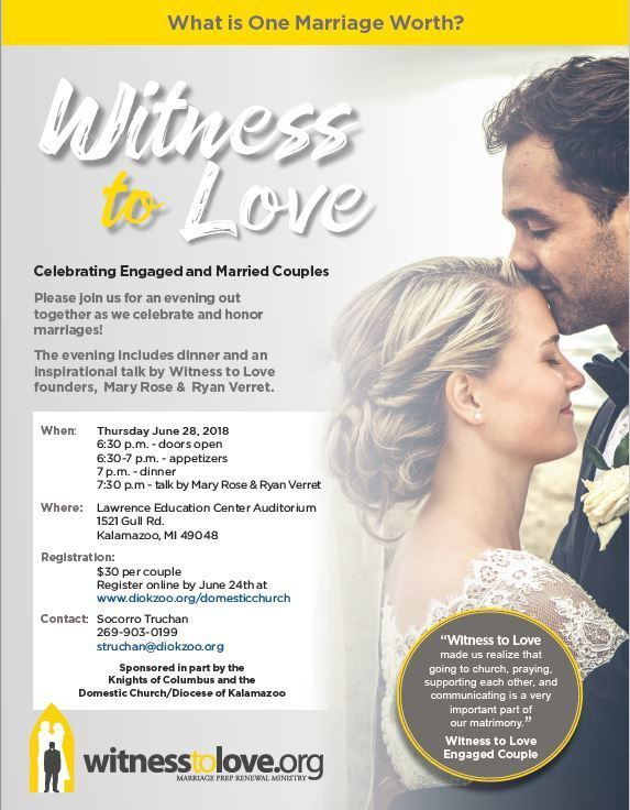 What is One Marriage Worth? via Witness to Love | Diocese of