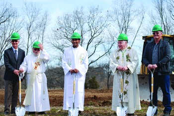 Parish breaks ground on construction of new church