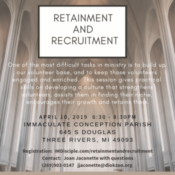 Recruitment and Retainment