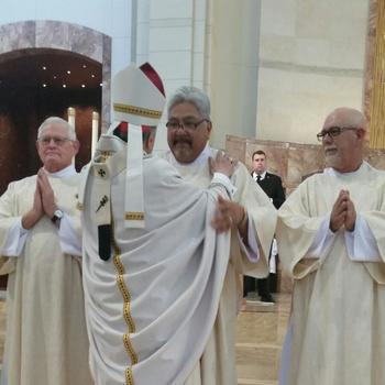 Congratulations to Deacon Felipe Garza!