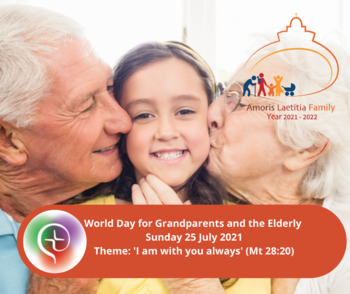 A Video From Bishop Denis  for the World Day for Grandparents and the Elderly