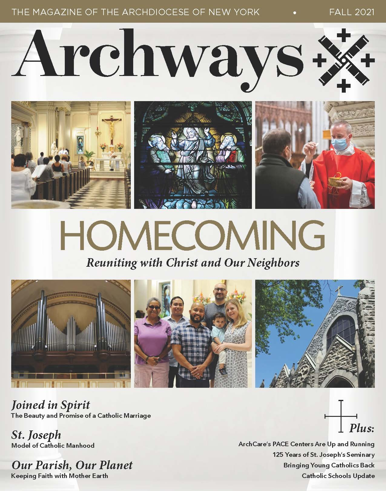 Archways Fall 2021 Cover