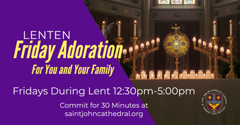 Lenten Friday Adoration