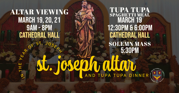 St. Joseph Altar Viewing