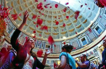 Looking ahead to Pentecost: The Pantheon in Rome