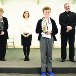 Christ the King's Kiernan captures annual spelling bee