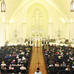 St. Ignatius' new church celebrates the past
