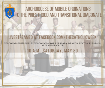 Three set to be ordained to priesthood