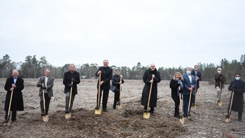 Young parish celebrates 'historic day' with groundbreaking