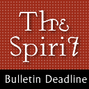 CANCELLED: Bulletin Submission Deadline