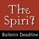 Bulletin Submission Deadline (May 13th Bulletin)