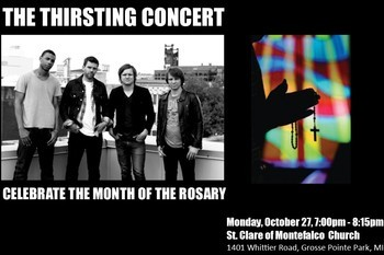 The Thirsting : Month of the Rosary Concert