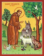 The Feast of St. Francis of Assisi and World Day for Animals