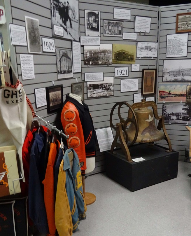 School Display - The Gladewater Museum