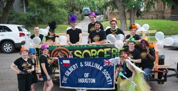 HGS in the Houston Pride Parade