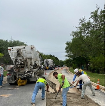 Woods Phase I – Road Work on Mendocino Drive – Update 4.14.21