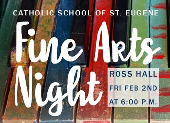 Sign Up for Fine Arts Night!