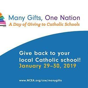 Many Gifts, One Nation - Day of Giving to Catholic Schools