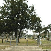 Catholic Cemetery #1, Victoria, Texas