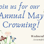 May Crowning at Assumption