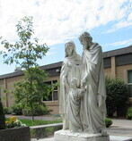 Stations of the Cross at Assumption Church