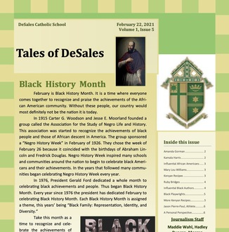 January Tales of DeSales
