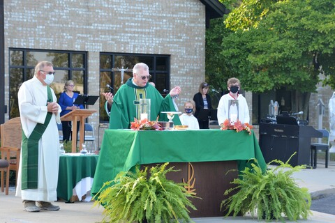 Sacred Heart Outdoor Mass 2020