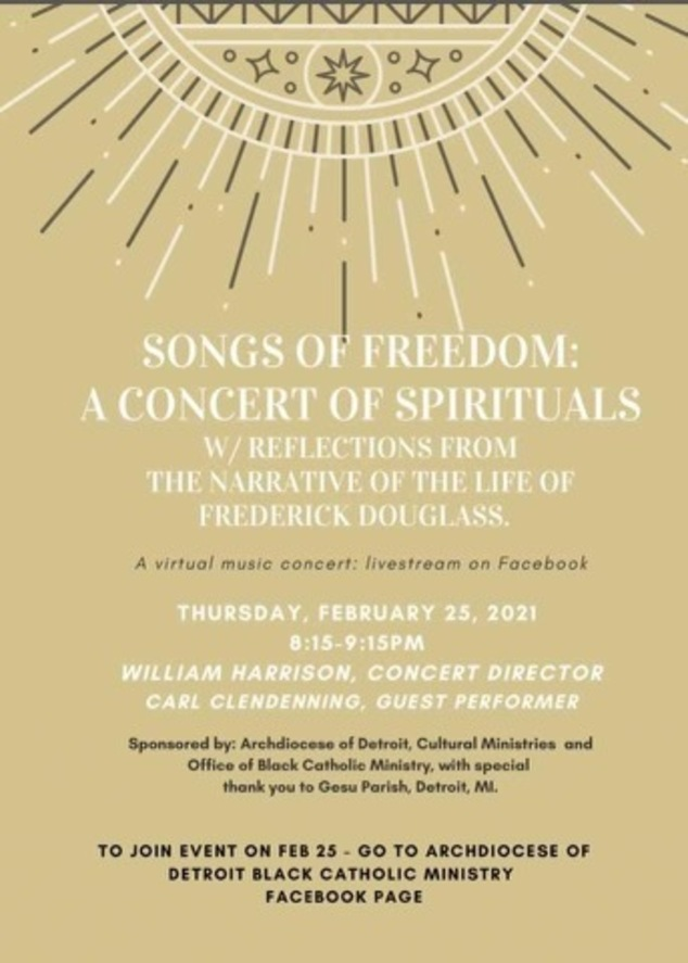 Songs of Freedome Virtual Concert