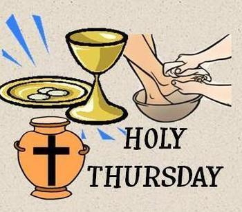 Holy Thursday - No Public Celebration