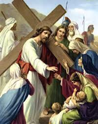 Stations of the Cross 9:30 am and 7:30 pm