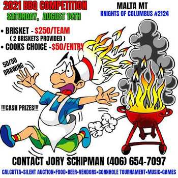 2021 BBQ Competition - sponsored by KofC - Malta