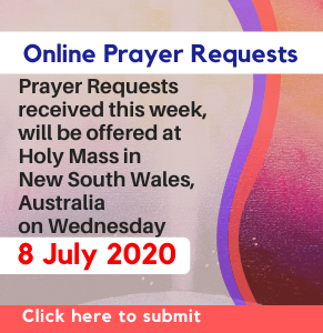 Click to submit your Prayer Request