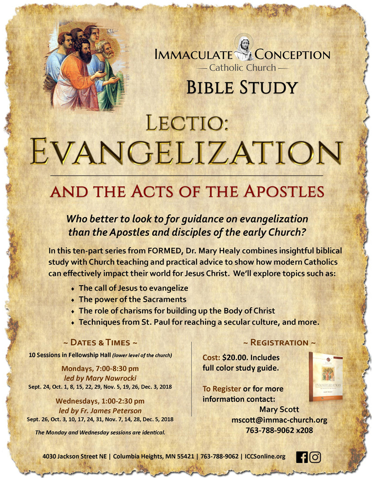 Lectio: Evangelization and the Acts of the Apostles | The